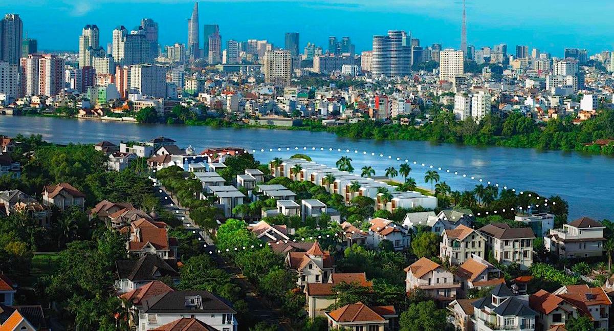 Biệt Thự Ven Sông Cao Cấp Thảo Điền Quận 2 - Holm Residences